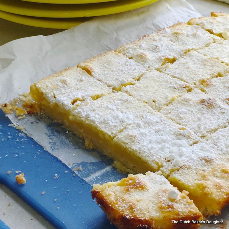 The Dutch Baker's Daughter: The BEST Lemon Bars