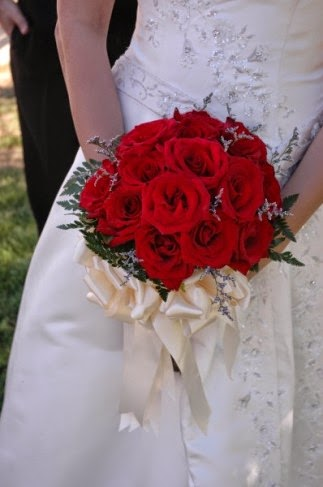 wedding red rose  fresh flowers, Natural flower