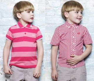 ROPA INFANTIL FRED PERRY LOOKBOOK