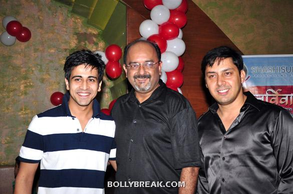 Dishank Arora, Amit Singh Thakur, Rakesh Kukret - (3) - TV serial 'Punar Vivah' celebrates successful 100th Episodes