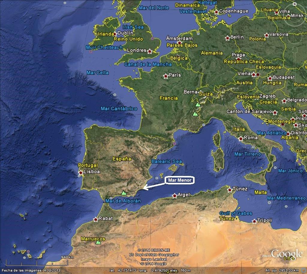 La Manga Del Mar Menor Weather: Birding In Murcia (Spain), And UK Visits: Spring Migration