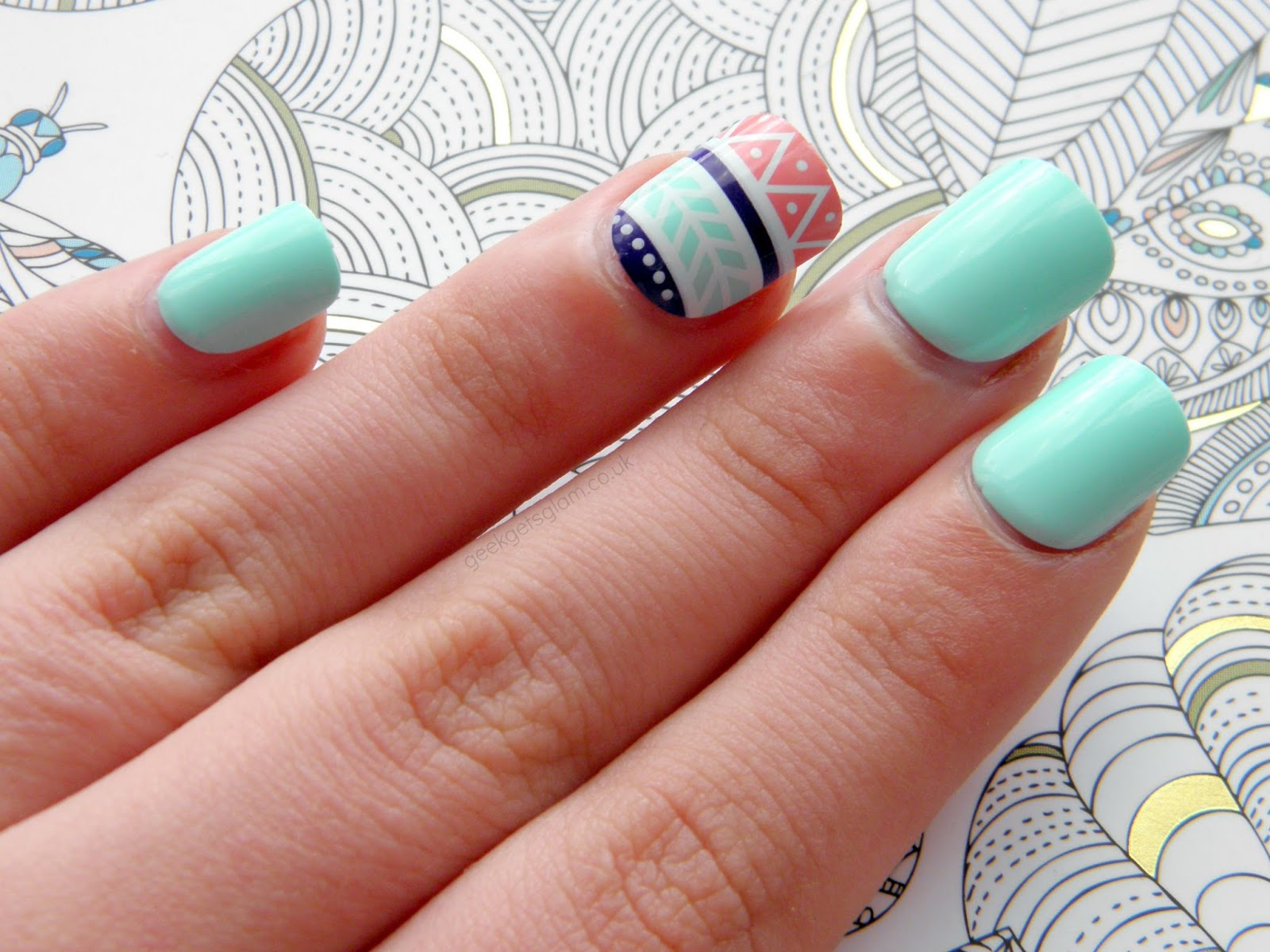 BEAUTY // imPress Accent Press-on Manicure* - // GEEK GETS GLAM //