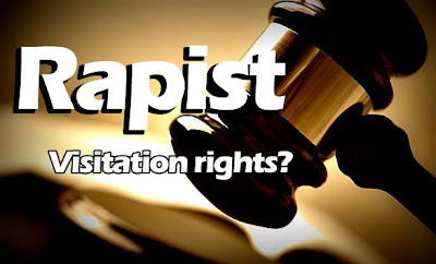 Rapist Visitation Rights to Child
