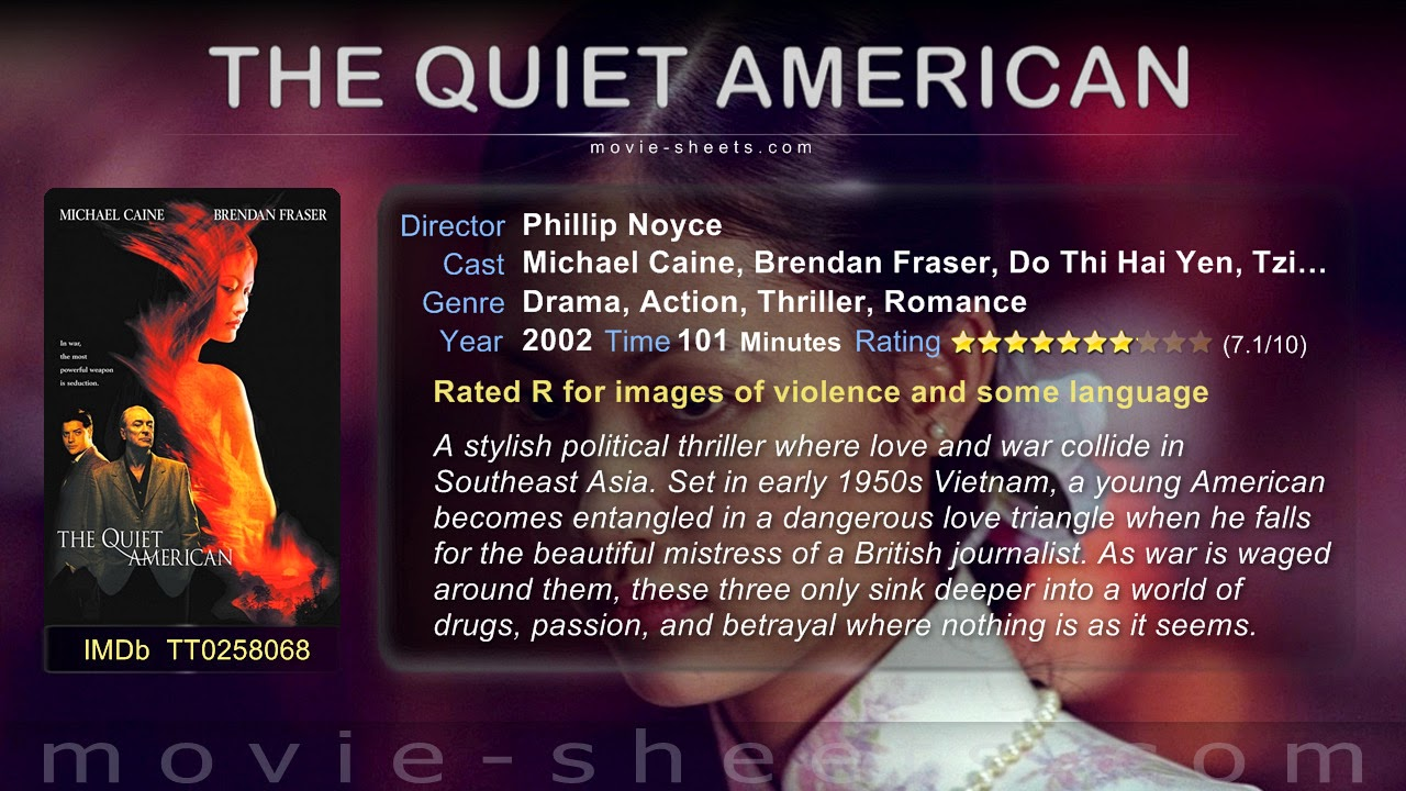 the characters thomas fowler and alden pyle in graham greeens the quiet american The quiet american is focused on three characters: thomas fowler like pyle in the quiet american forget that graham greene had much in common with fowler.