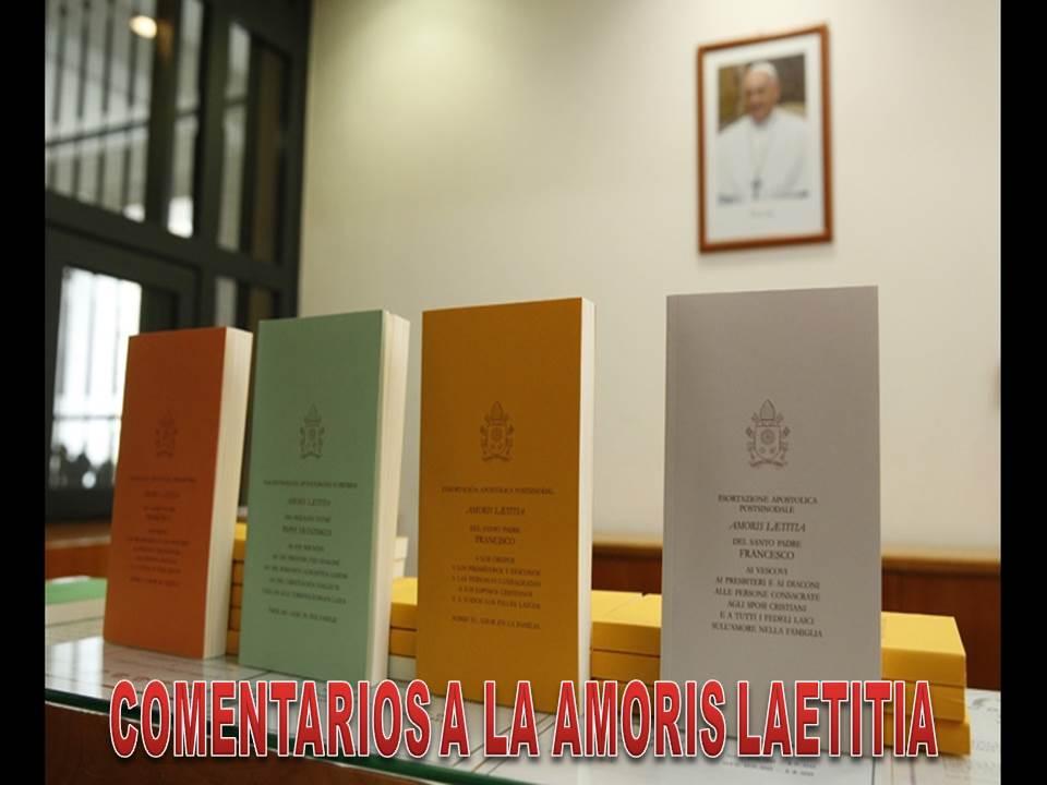 COMENTARIOS A LA AMORIS LAETITIA