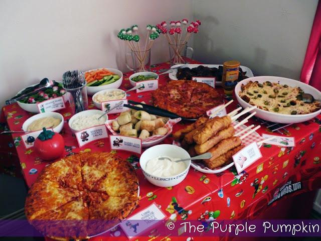 Nintendo Themed Birthday Party The Purple Pumpkin Blog
