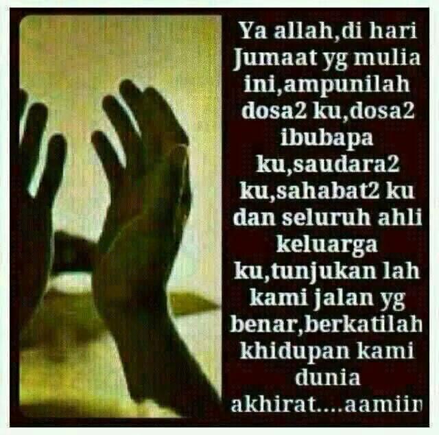 Doa Pagi Jumaat Untuk Semua