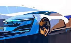 2015 Honda FCEV Sketch Concept