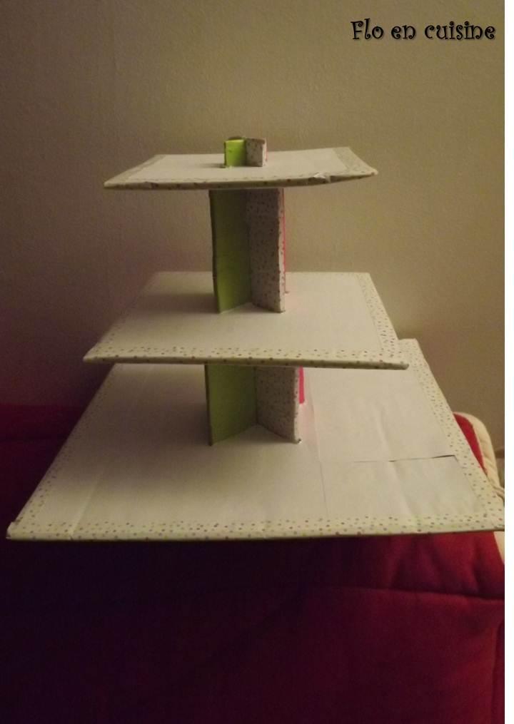 flo en cuisine comment construire son pr sentoir muffins. Black Bedroom Furniture Sets. Home Design Ideas