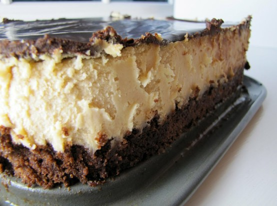 My Kind of Happy: Peanut Butter Cheesecake