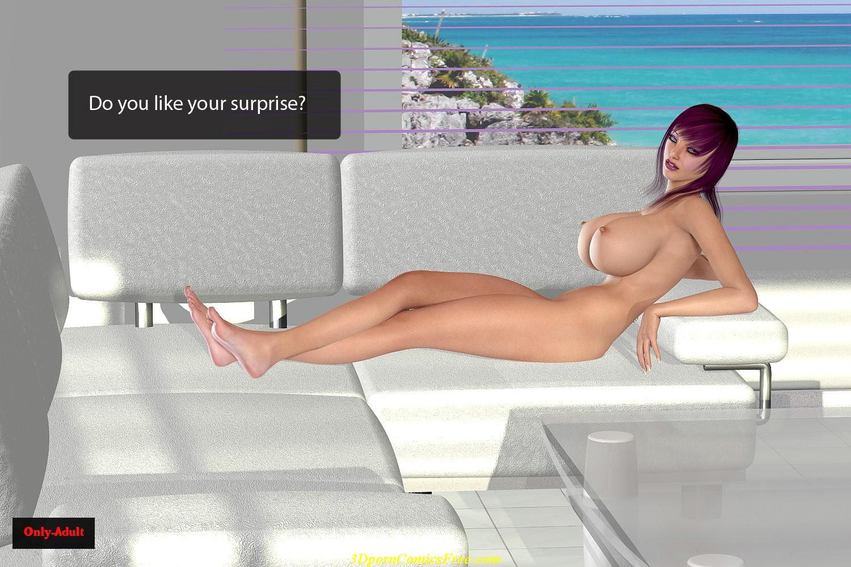Porn comics free. 3D sex comics - Ayako blow job. Download link full