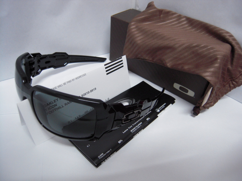 a41e173a35 ... Oakley Oil Drum 2.0 Black - Grey POLARIZED RM 580 ...