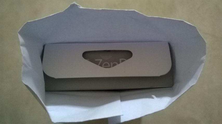 ZenPower masih dalam bungkus. Baru datang