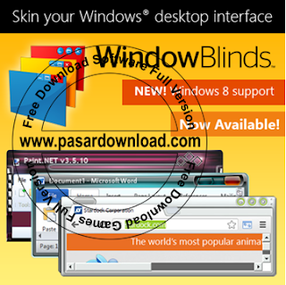 Free Download Stardock WindowBlinds 8 Full Version (Include Trial Reset)