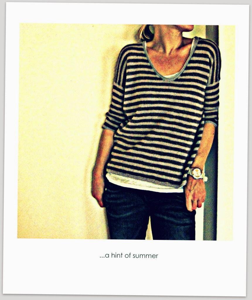 ...a hint of summer