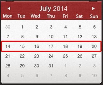 События недели в Украине 14-20 июля 2014 года