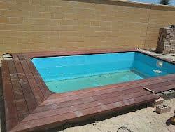 tarima flotantes piscina en bormujo