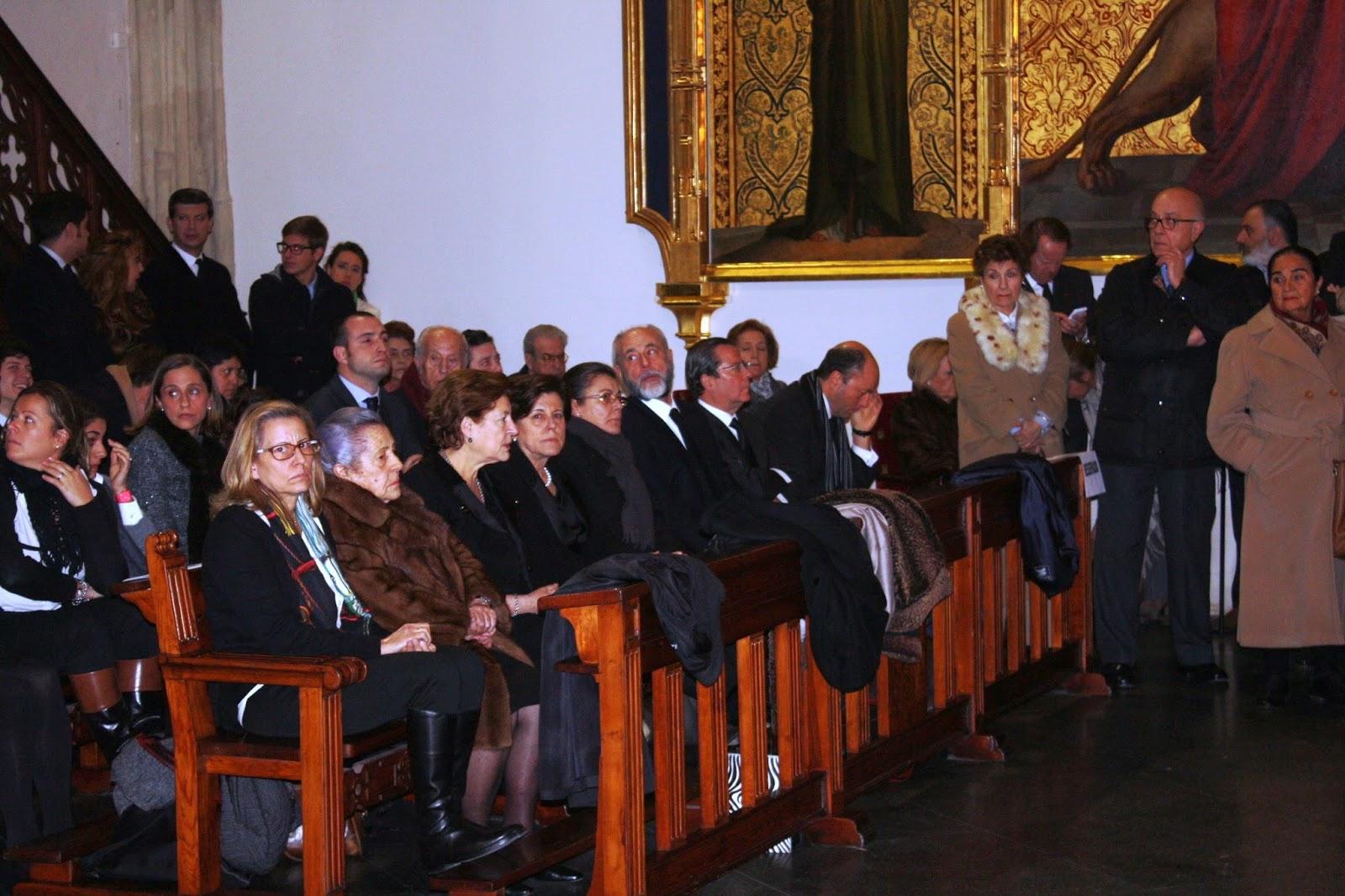 Algunos de los asistentes al homenaje, entre los que puede verse a De la Cigoña o Tejero. AJE
