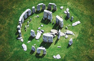 As pedras de Stonehenge – Inglaterra