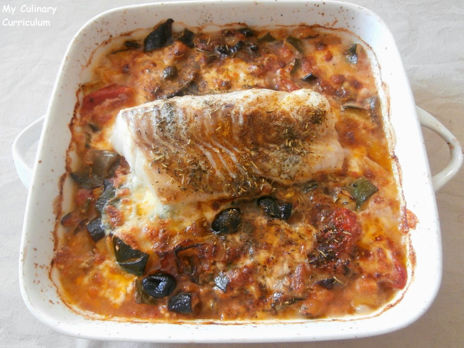 My culinary curriculum cabillaud au four l gumes du - Cuisiner du cabillaud au four ...