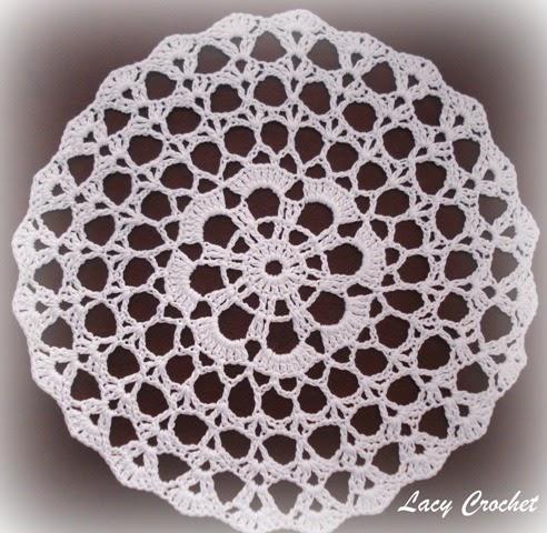 Free Pattern Crochet Doily Easy