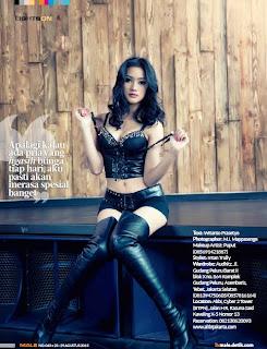 Galeri Foto Devina Kirana Ayu di Majalah Male Agustus/September 2013