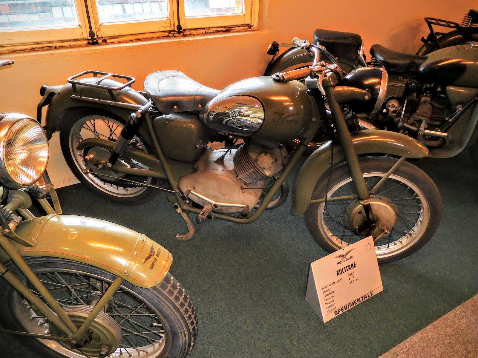 Tigho NYDucati: 1955 Moto Guzzi Militare