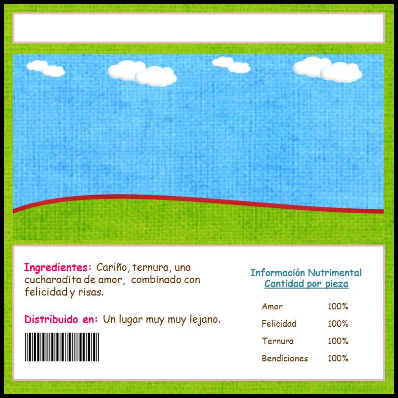 Etiquetas Para Chocolates Personalizados
