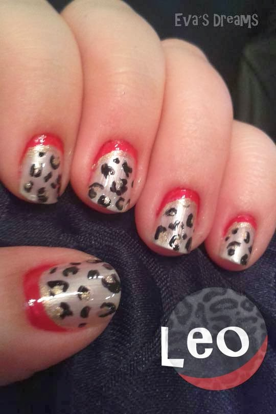 Nails of the week - Nail art: LEO