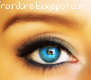 hair dare blue eyed shell