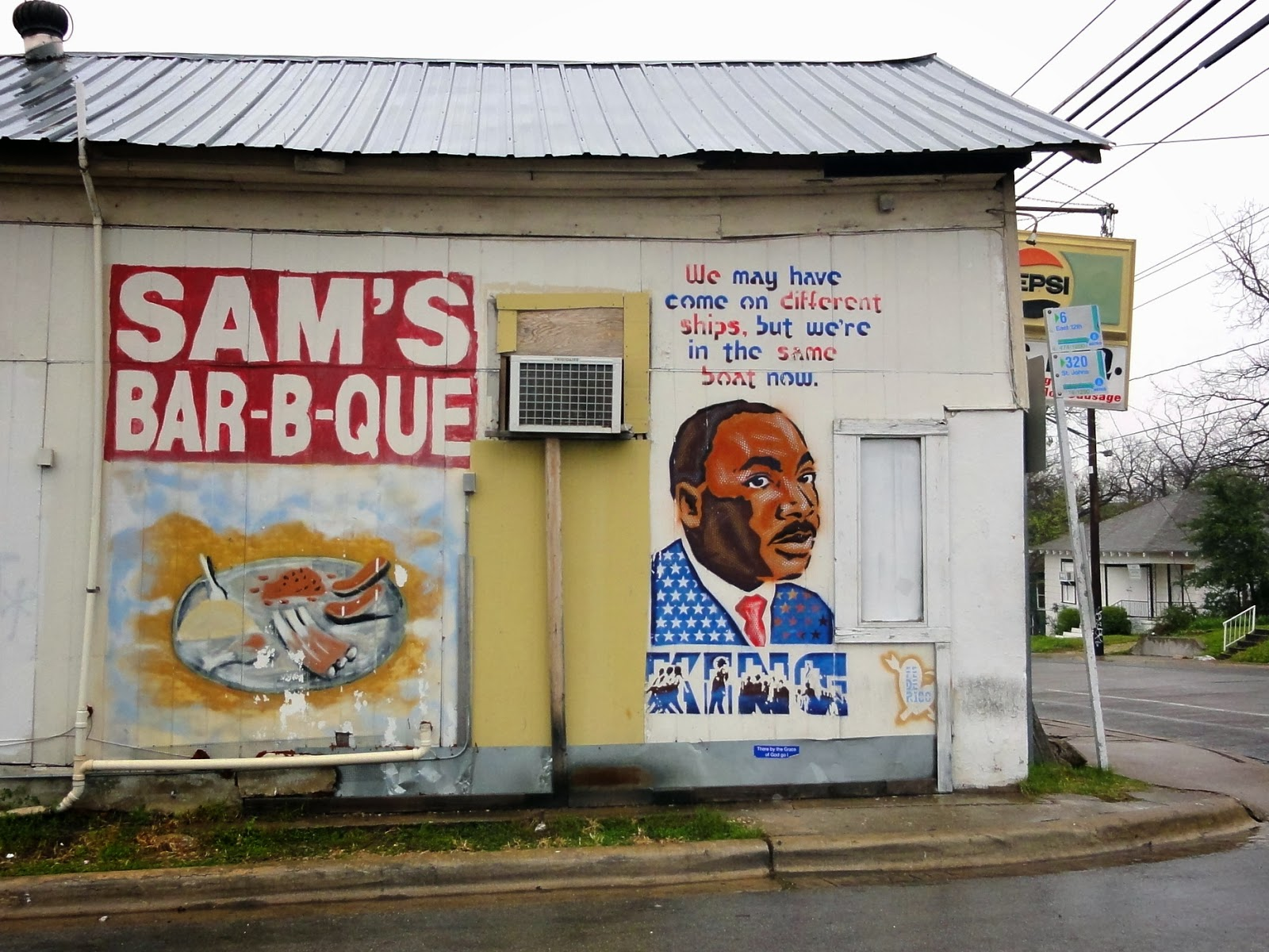 Austin Mural In the Same Boat Now: 2000 E 12th St