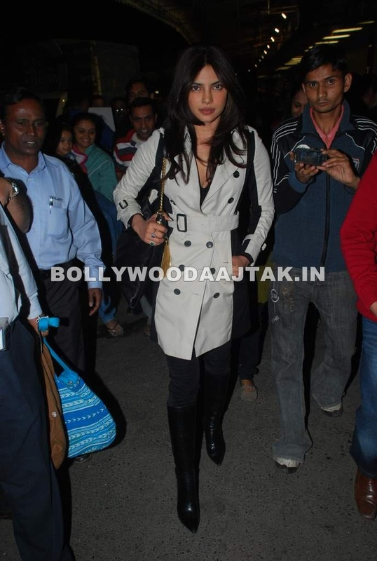 1 - Priyanka Chopra leave for Berlin