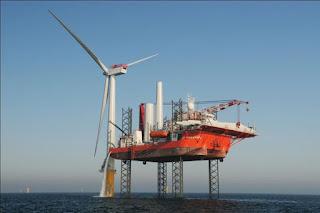 Dogger Bank wind farm installation