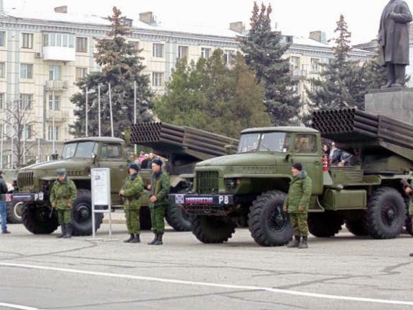 Россия продолжает ввод своих войск и техники на территорию Украины