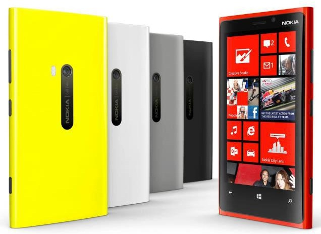 "Nokia Lumia 920 - WP 8 - 4.5"" - 8.7 MP - Dual-core 1.5 GHz - RAM 1GB - ROM 32GB - 2G, 3G, 4G"