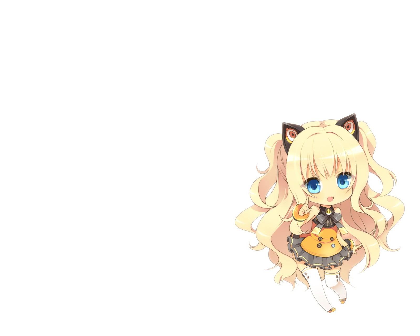 Chibi Vocaloid Desktop Wallpaper HD