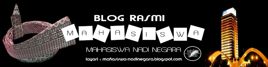 Mahasiswa Nadi Negara Official Blog