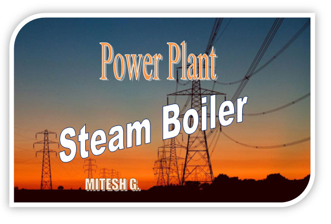 Power Plant: Steam Boiler | Working principle and Types of Boiler ...