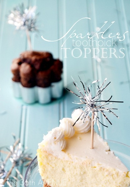 http://www.the36thavenue.com/2012/12/sparklers-toothpick-toppers.html