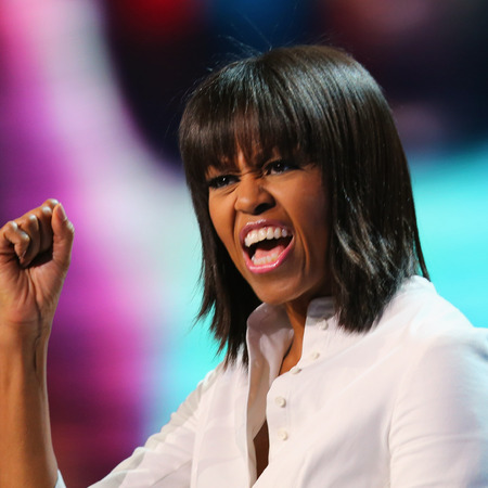 K Michelle Hairstyles 2012 Michelle Obama Before New Haircut