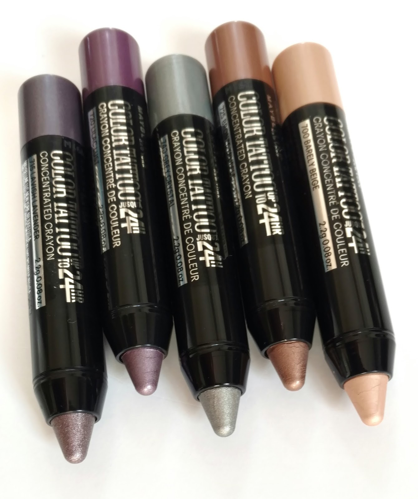 Maybelline Color Tattoo Concentrated Crayon Review