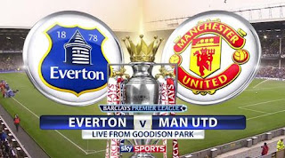 Susunan Pemain Everton vs Manchester United