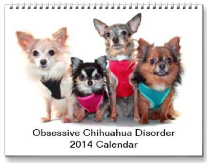 2014 Obsessive Chihuahua Disorder Calendar