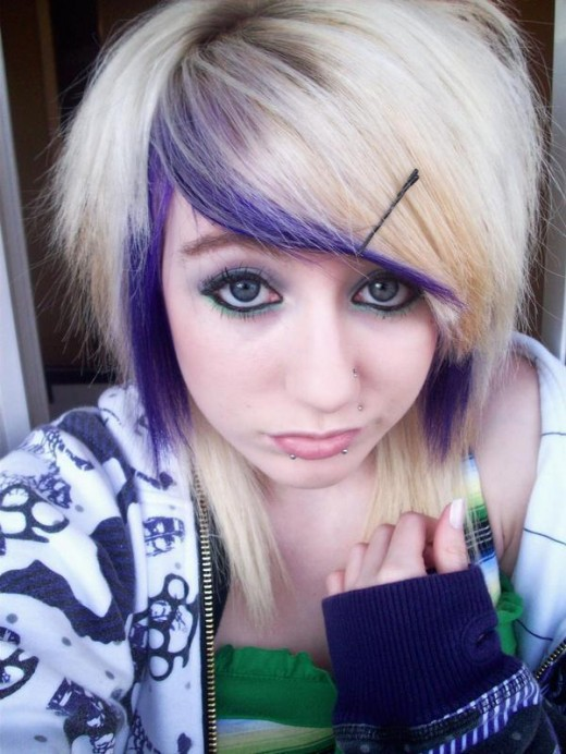 hairstyles emo girls. Emo Girl Hairstyle