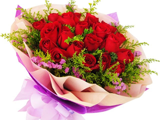 Jambangan bunga ros buat buah hati