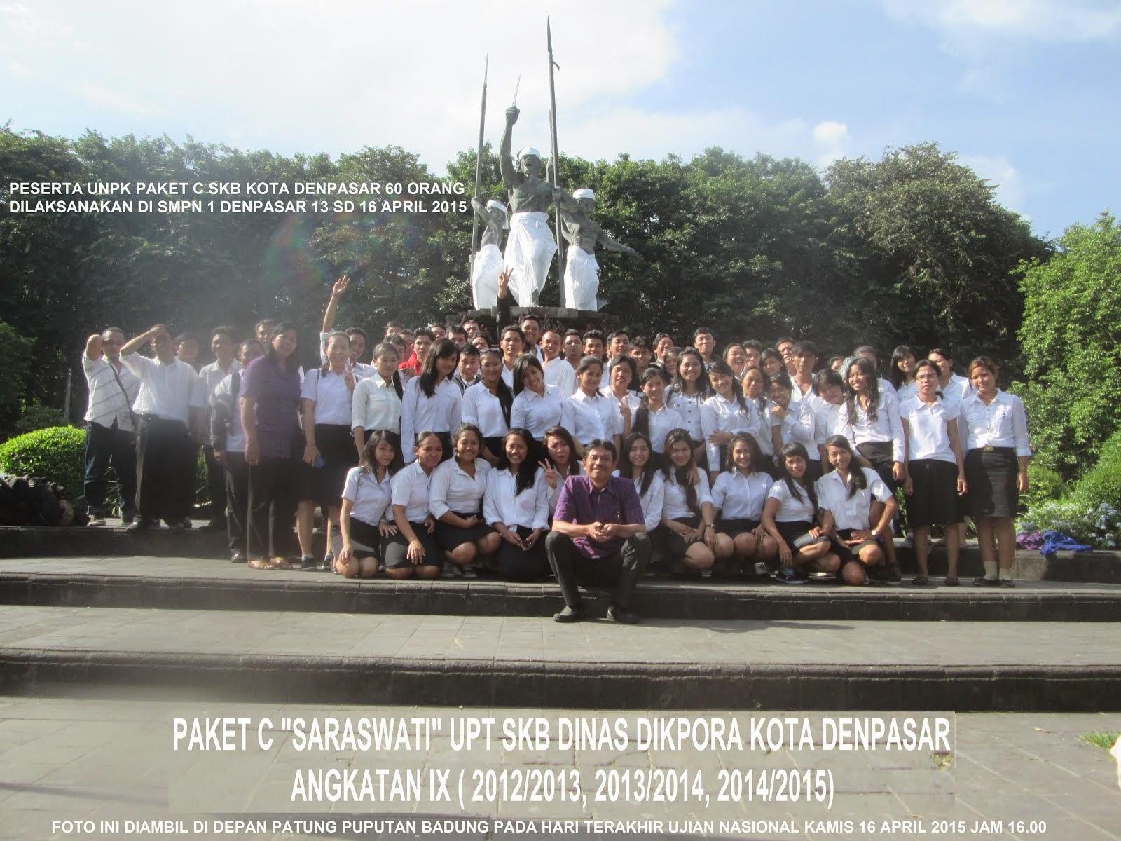 PAKET C ANGKATAN IX ( 2012/2013, 2013/2014, 2014/2015 )