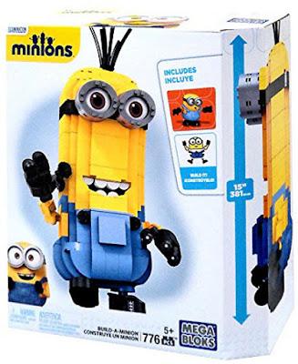 JUGUETES - MEGA BLOKS : Minions  Construye un Minion | Build-a-Minion Producto Oficial Película 2015 | CNF59 | Piezas: 776 | Edad: +5 años Comprar en Amazon