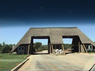 Addo Elephant National Park entrance, South Africa