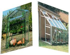 Invernaderos en espacios reducidos - Invernaderos para casa ...