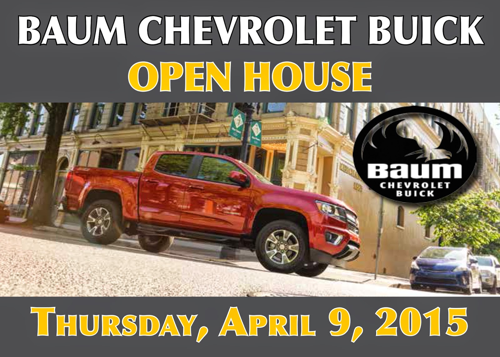 Baum Chevrolet Buick Open House